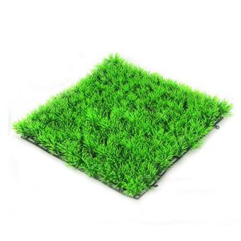 360WISH Aquarium Lawn Artificial Plant Grass Landscaping Fish Tank Ornament Decoration - Green - intl Price Philippines