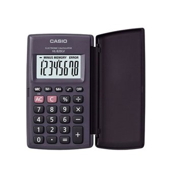 Casio Black Portable Calculator Hl-820Lv Price Philippines