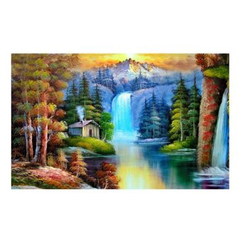 Harga Forest 5D Diamond DIY Painting Home Decor Craft - intl