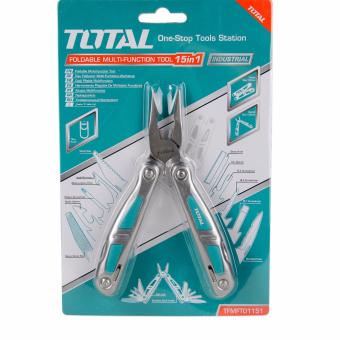 Total TFMFTO1151 Foldable 15 in 1 Pocket Multi-function Tool Price Philippines