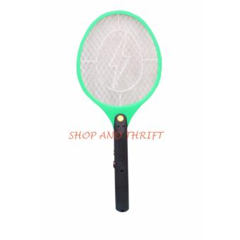 Harga SHOP AND THRIFT #106 ELECTRIC MIDGES TAKE SMALL LIGHTNING MOSQUITTO KILLER FLY SWATTER