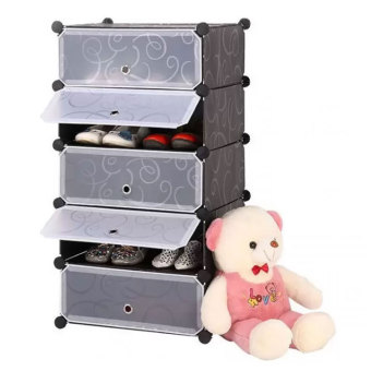 Shoe Storage Cabinet (Black) Price Philippines