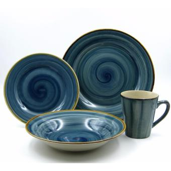 Multiple Choice Stoneware 16pc Dinner Set - Amazon/Pacific Price Philippines
