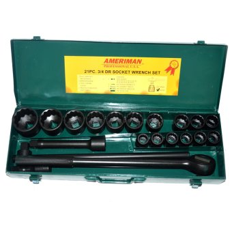 Amerimam 3/4 DR Socket Wrench Set 12 Point Price Philippines