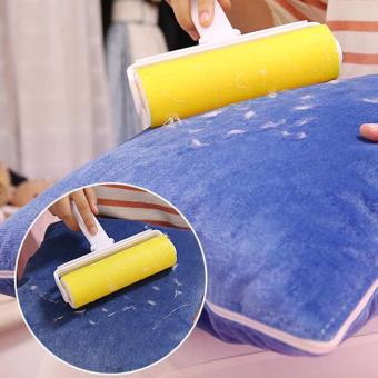 Jiayiqi Washable Sticky Clothes Sticky Buddy Dust Drum Lint Rollers Hair Cleaning Brush - intl Price Philippines
