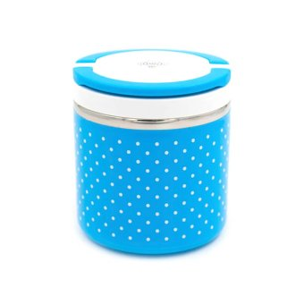 Single Layer Thermal Lunchbox (Blue) Price Philippines