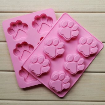 Harga Nice Silicone Ice Cube Candy Chocolate Cake Cookie Cupcake Soap Molds DIY Mold Catlike