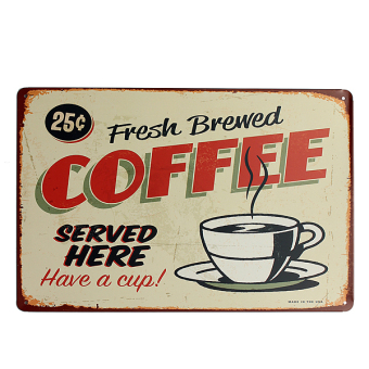 Coffee Metal Home Shop Pub Wall Garage Shabby Vintage Sign Tin Plaque Decor Price Philippines