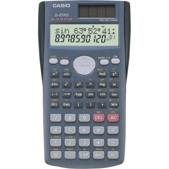 Casio Black Scientific Calculator Fx-85Ms Price Philippines