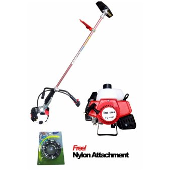 Harga Fuji Star FJ-411 2-Stroke Engine Brush Cutter (Red)