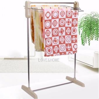 Harga LOVE&HOME Multifunctional Clothes Rack (White)