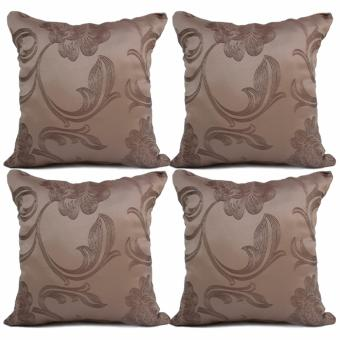 "Home Essentials TPC 24 Wesley Collection 16"" x 16"" Throw Pillow Case Set of 4 Price Philippines"