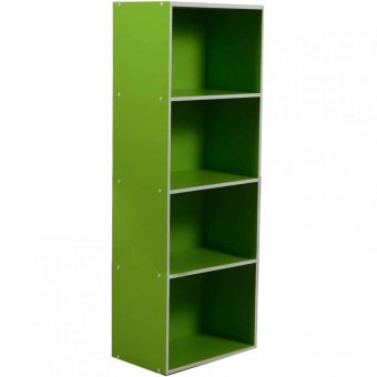 Harga Tailee Furniture ST-400BF 4-Layer Utility Cabinet Organizer (Green)