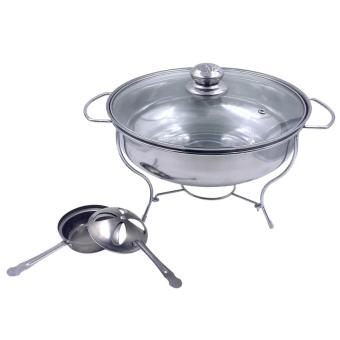 Harga SHOP AND THRIFT UNIBEST STAINLESS STEEL ROUND CHAFING DISH