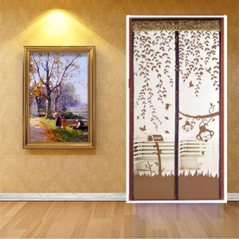 100cm*210cm Magic Curtain Mesh Net Screen Door Magnetic Anti Mosquito Bug Fly Hands Free New Brown - Intl Price Philippines
