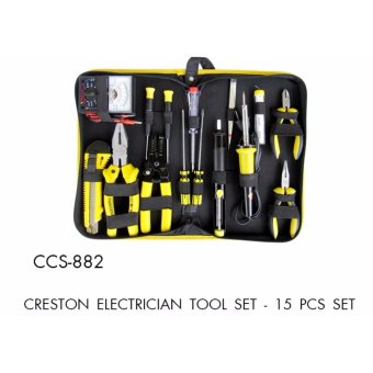 15 Pcs Set Creston Electrician Tool Set Price Philippines
