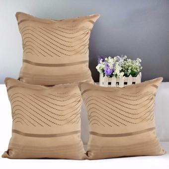 "Home Essentials TPC 23 Wesley Collection 16"" x 16"" Throw Pillow Case Set of 3 Price Philippines"