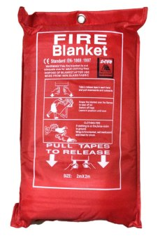 Meisons Fire Blanket Soft Case 2 meters x 2 meters Price Philippines
