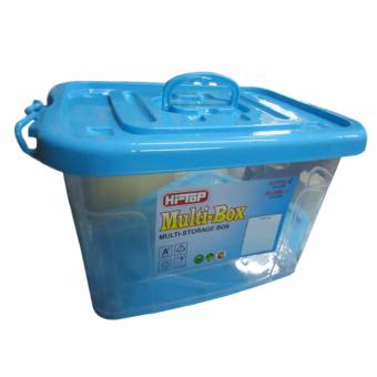 Homex multi storage box 12 liters No.1998 (blue) Price Philippines