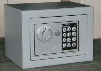Harga Digital Safe Box Is Fire Drill Resistant Ideal for Home Office Use! Safety Security Box Keep Cash Jewelry or Documents Securely - intl