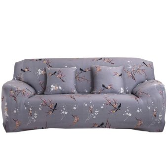 Harga Art Spandex Stretch Slipcover Printed Sofa Furniture Cover - intl