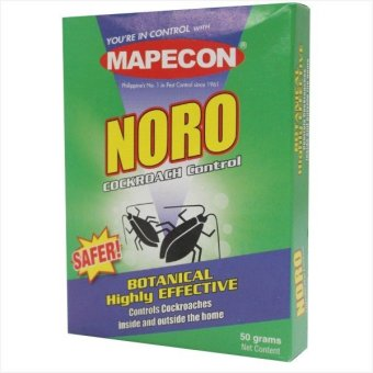 Harga MAPECON NORO PELLETS (For Cockroaches) (Green)