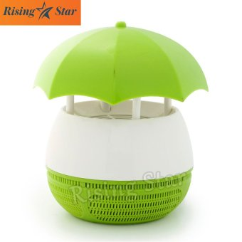 Harga Rising Star Parachute Suction Style Led Photocatalyst Mosquito Killer (Green)