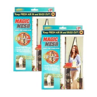 Magic Mesh Instant Screen Door Set of 2 Price Philippines