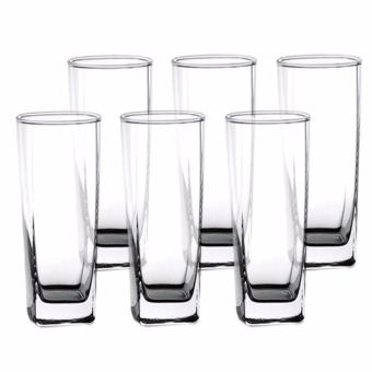 Harga Homex Ocean Glassware Plaza 14oz Tumbler Water Glass Set of 6 (Y5102)