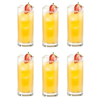 Harga Hi-Ball / Tumbler / Water Glass / Juice Glass / Soda Glass /Cocktail Glass 290ml Glassware Set of 6
