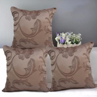 "Home Essentials TPC 24 Wesley Collection 16"" x 16"" Throw Pillow Case Set of 3 Price Philippines"
