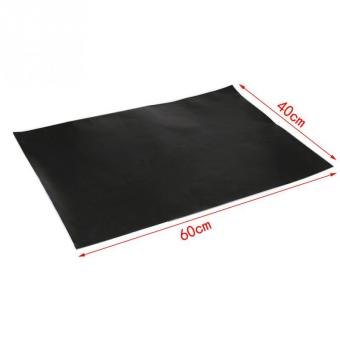 Black Teflon Pan Pad BBQ Grill Pad Smooth Non-toxic Family BBQ Mat Temperature - Intl Price Philippines
