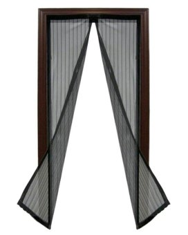 Magic Mesh Instant Screen Door- (Black) Price Philippines