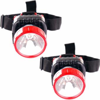 NSS NS-286 LED Super Capacity Head Lamp (Red)Set of 2 Price Philippines
