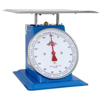 Harga Fuji Mechanical Table Scale Flat Pan FTF-150 (Blue)