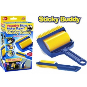 New 2017 Sticky Reusable Buddy Carpet Clothes Cleaning Lint Fur Remover Roller Brush Price Philippines
