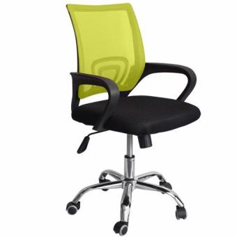 Ergodynamic Mesh Chair 360˚ Swivel Function black Mesh Backrest (Green) Price Philippines