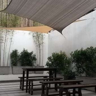 Al Fresco Shade Sail ® 3.0 x 5.0 m - Rectangle - Taupe Price Philippines
