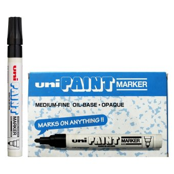 Uni Paint Marker (Black) Pack of 6 Price Philippines