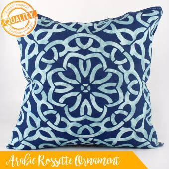 "Home Essentials Arabic Rossette Ornament Canvas 16"" x 16"" Throw Pillow Case Price Philippines"