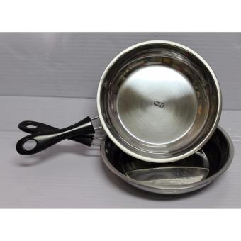 Ako 24 CM Frying Pan With Black Handle Set of 2 Price Philippines