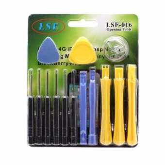 LSF-016 14 in 1 Precise Multi-function Screwdriver Disassemble Opening Shell Tools Set Price Philippines