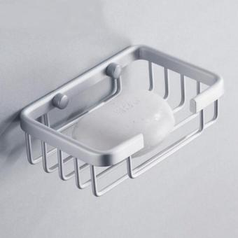 Aluminum Soap Shampoo Holder Wall Mounted - intl Price Philippines
