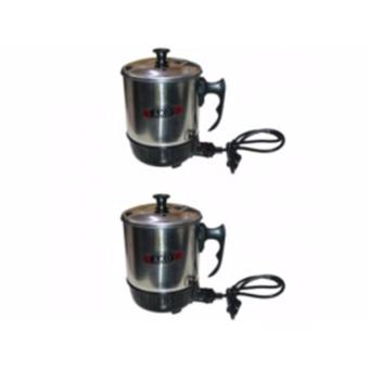 Stainless Steel Mini AKO Electric Cup Cooker Personal Cooker Pot (Buy 1 Get 1 Free) Price Philippines