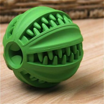 ORIEN Pet Chew Toys Food Feeder Ball With Sound Small - intl Price Philippines