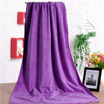 Absorbent Microfiber Towel Bath Quick Drying Washcloth Bath Purple Price Philippines