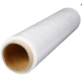 "SHEFA Stretch Film Pallet Wrap, 20u x 20"" x 300m, 3"" core, Clear, Plastic, 1 roll Price Philippines"