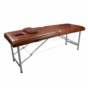 New Uni Beauty Portable Massage Table Massage Bed (Brown) Price Philippines