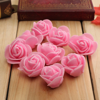 Harga Environmentally 50 PCS/Bag PE Foam Rose Flower DIY Decoration Rose