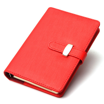 Identity Dairy Personal Planner Organiser Leather Hook Note Book Filofax Gift Red Price Philippines